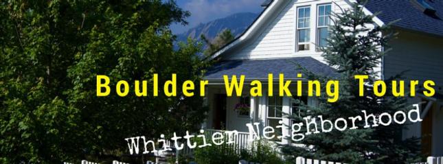 Whittier Walking tour