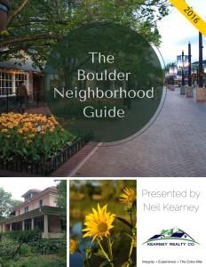 Boulder Neighborhood Guide 2016