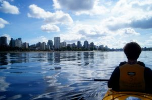Vancouver from a Kayak
