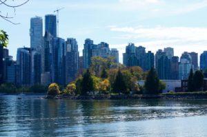 Vancouver B.C. Skyline