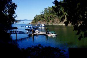 British Columbia Float Plane Dock