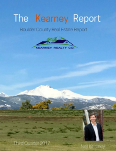 The Kearney Report - Boulder County Real Estate